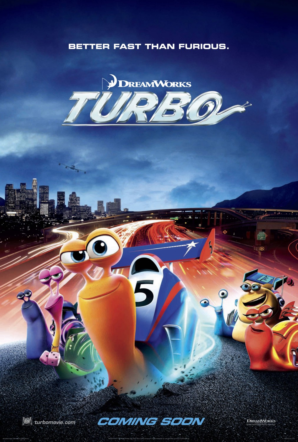 Baixar Filme Turbo BluRay 720p Dublado – Torrent